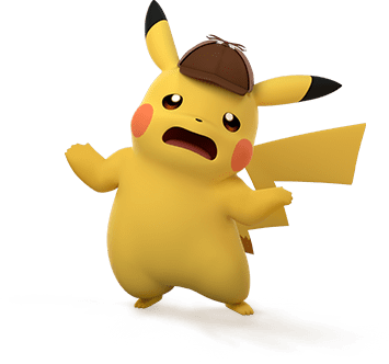 Detective Pikachu is exasperated